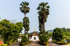 Royal Palace Museum, Luang Prabang, Laos. The Royal Palace (official name Haw Kham) in Luang Prabang, Laos, was built in 1904 during the French colonial era for Stock Image