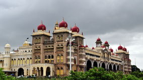 The Royal Palace of Mysore Stock Photo