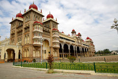 Royal Palace in Mysore. Indien. Lizenzfreies Stockfoto