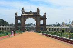 Royal Palace At Mysore-XXVI Stock Photo