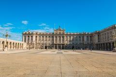 Royal Palace na Espanha do Madri Imagens de Stock Royalty Free