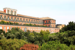 The Royal Palace of Naples in Italy Royalty Free Stock Photos