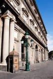 Royal Palace in Neapel, Italien Lizenzfreie Stockbilder