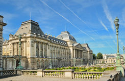 Royal Palace a Bruxelles Fotografie Stock Libere da Diritti