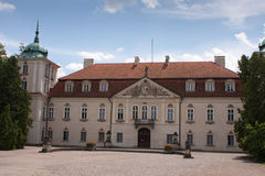 Royal palace in nieborow. In poland Stock Photography