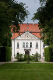 Royal palace in nieborow. In poland Stock Image