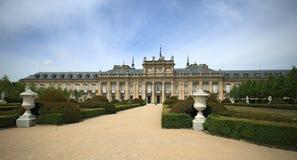 Royal Palace no La Granja de San Ildefonso na província de Segovia, Espanha Fotos de Stock Royalty Free