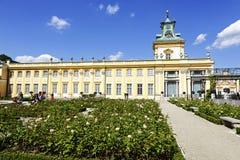 Royal Palace no Wilanow de Varsóvia no Polônia Fotos de Stock