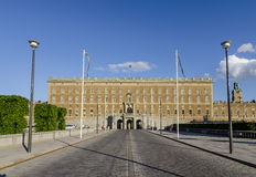Royal palace and Norrbro, Stockholm Stock Photo