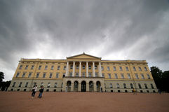 Royal Palace, Norway, Oslo. Royalty Free Stock Photography