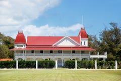 Royal Palace in Nuku& x27; alofa sull'isola di Tongatapu, Tonga Fotografia Stock