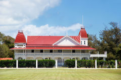 Royal Palace in Nuku'alofa on Tongatapu island, Tonga. Royal Palace was build in 1867 and is a symbol of Tonga to the rest of the world Stock Photo