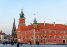 Royal Palace in old town Warsaw, Poland Stock Photo