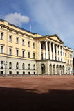 Royal Palace in Oslo Royalty Free Stock Images