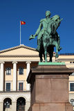 The Royal Palace in Oslo Stock Images