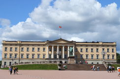 Royal Palace, Oslo Obraz Royalty Free