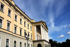 Royal palace in Oslo Royalty Free Stock Photography