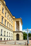 The Royal Palace in Oslo. The capital of Norway Stock Images