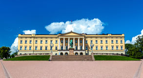 The Royal Palace in Oslo. The capital of Norway Royalty Free Stock Photo