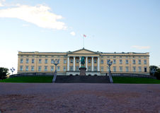 Royal Palace, Oslo Norway Royalty Free Stock Images