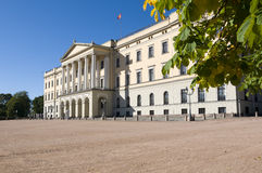 The Royal Palace, Oslo. The Royal Palace in Oslo , Norway royalty free stock images