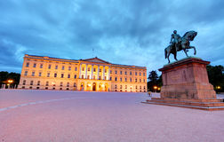 Royal palace in Oslo, Norway Stock Photo