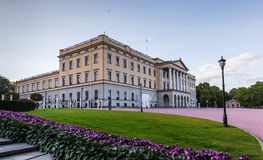 Royal Palace in Oslo Stock Photos