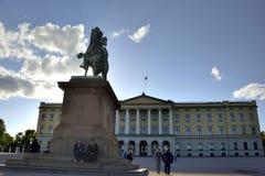 Royal Palace, Oslo Norway Royalty Free Stock Photography