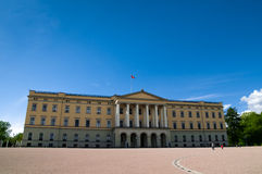Royal Palace, Oslo, Norway Royalty Free Stock Photography