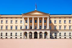 Oslo Royal Palace, Norway. Royal Palace in Oslo, Norway. Royal Palace is the official residence of the present Norwegian monarch Royalty Free Stock Photos