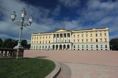 Royal palace in Oslo Royalty Free Stock Image