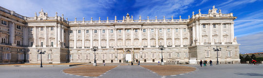 Royal Palace Madrid Immagini Stock