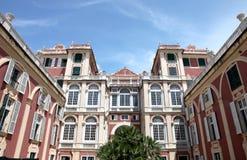 Royal Palace (Palazzo Reale eller Palazzo Stefano Balbi) Arkivbild
