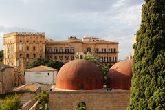 The royal palace, palermo Stock Photo