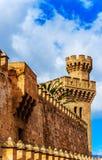 The Royal Palace in Palma de Mallorca, Spain Royalty Free Stock Photos