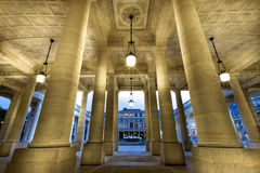 Royal Palace in Parijs Stock Afbeeldingen