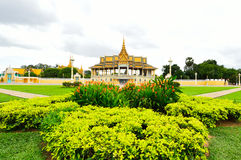 The Royal Palace Park, Phnom Penh, Cambodia Stock Photos