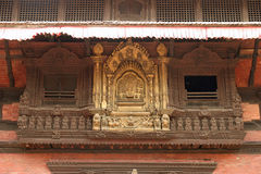 Royal palace in Patan, Kathmandu Royalty Free Stock Image