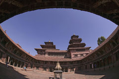 Royal Palace of Patan in Nepal Stock Photos