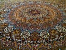 Royal Palace Persian rug pattern, Persian rug with an Intricate design. Persian carpet, famous traditional persian carpets and rugs, Royal Palace Persian Carpet stock image