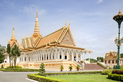 Royal Palace. Phnom Penh Royalty-vrije Stock Fotografie