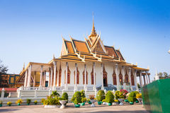 Royal Palace in Phnom Penh Stock Photo