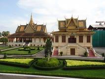 Royal Palace a Phnom Penh Immagini Stock