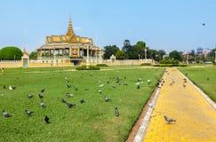 Royal Palace, Phnom Penh Royalty Free Stock Image