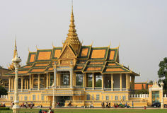 Royal Palace Phnom Penh Immagine Stock