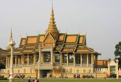 Royal Palace Phnom Penh. The Main Entrance of the Royal palace, Phnom Penh, Cambodia Stock Image