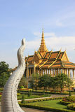 Royal Palace Phnom Penh Stockbild