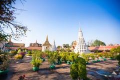 Royal Palace in Phnom Penh Royalty-vrije Stock Afbeelding