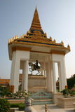 Royal Palace, Phnom Penh, Cambodge Photos stock