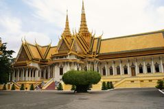 Royal Palace Phnom Penh Cambodge Photographie stock libre de droits
